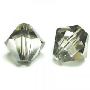 Swarovski Elements Perlen Bicones 5mm Crystal Satin 100 Stück