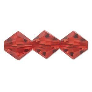 Swarovski Elements Perlen Bicones 5mm Light Siam 50 Stück