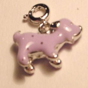 Charms Hund lila