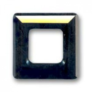 Swarovski Elements Square Ringe 30mm Jet 1 Stück
