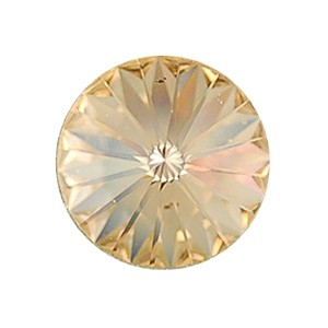 Swarovski Elements Rivolis 14mm Light Peach foiled 6 Stück