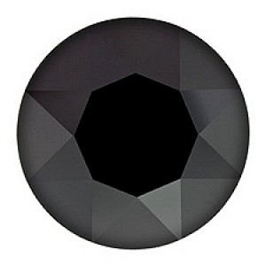 swarovski stein rund 35mm jet hematite swarovski g nstig kaufen online shop. Black Bedroom Furniture Sets. Home Design Ideas