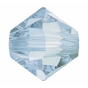 Swarovski Elements Perlen Bicones 6mm Crystal Blue Shade 25 Stück