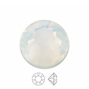 Swarovski Elements Chaton Steine PP9 White Opal foiled 1440 Stück