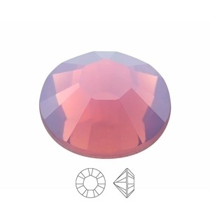 Swarovski Elements Chaton Steine SS39 Cyclamen Opal foiled