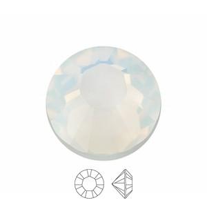Swarovski Elements Chaton Steine SS39 White Opal foiled