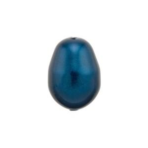 Swarovski Elements 5821 Crystal Pearls Drop 11x8mm Petrol 10 Stück