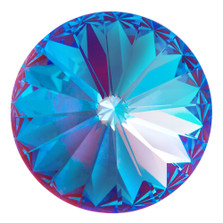 Swarovski Elements Rivolis 14mm Crystal Burgundy DeLite foiled 1 Stück