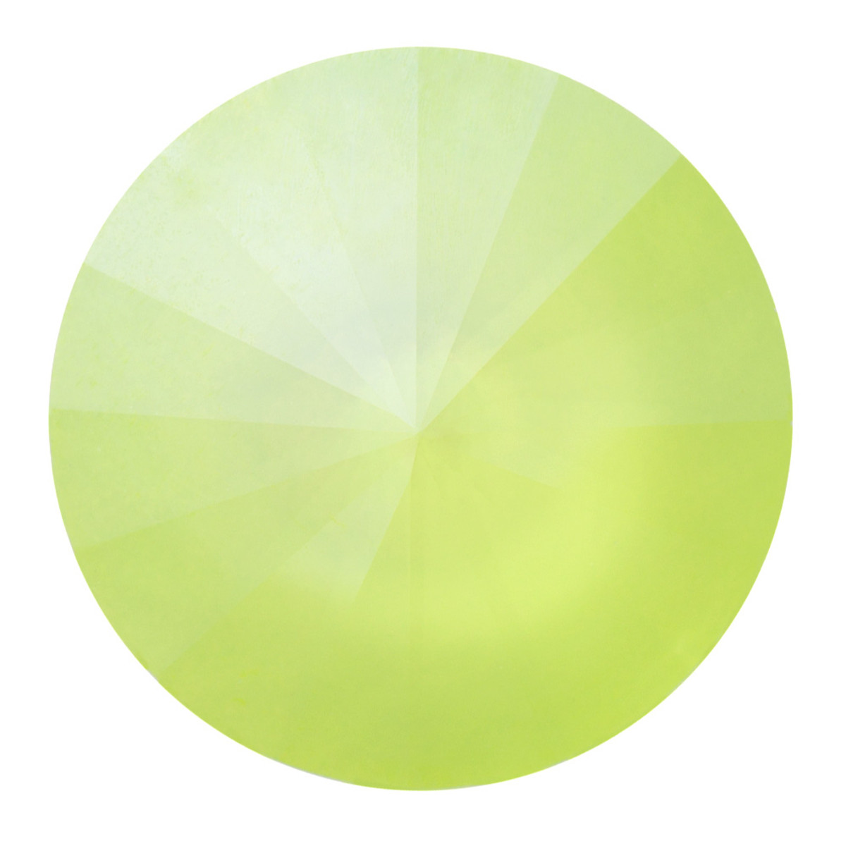 Swarovski Elements Rivolis 14mm Crystal Lime 6 Stück