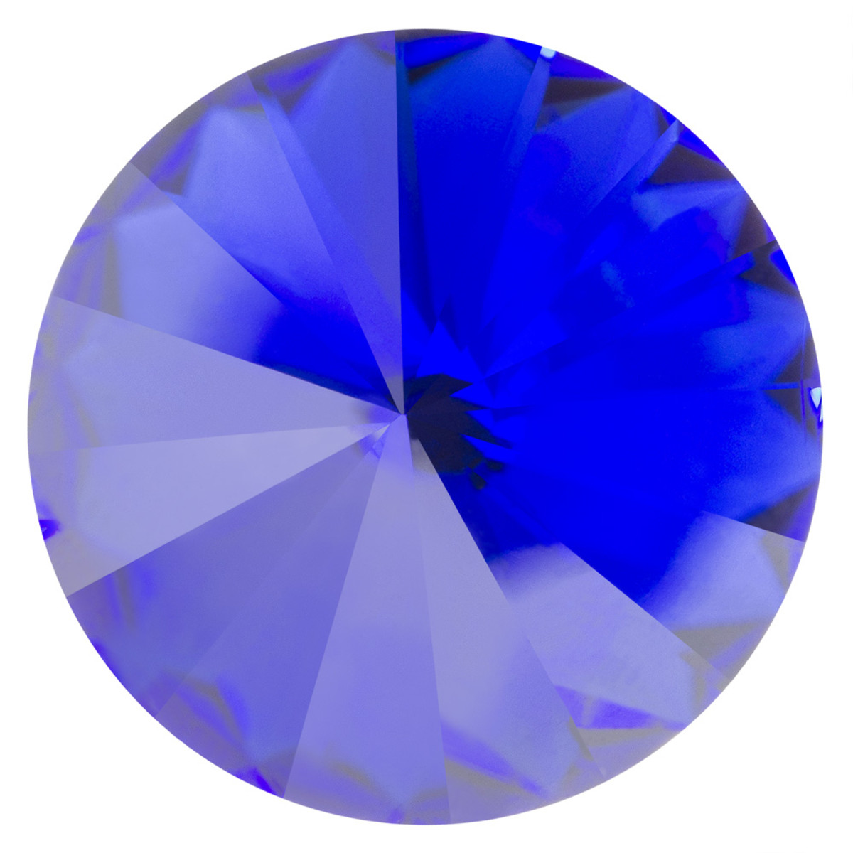 Swarovski Elements Rivolis 8mm Crystal Majestic Blue F 6 Stück