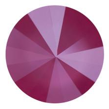 Swarovski Elements Rivolis 14mm Crystal Peony Pink unfoiled 1 Stück