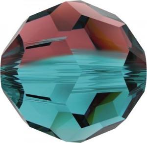 Swarovski Elements Perlen Kugeln 8mm Burgundy Blue Zirkon Blend