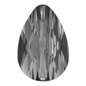Swarovski Mini Drop Bead 5056 Crystal Silver Night 10 Stück €7,50