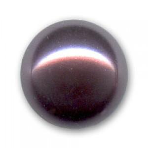 Swarovski Elements Perlen Crystal Pearls 6mm Burgundy Pearls halb gebohrt flach 10 Stück