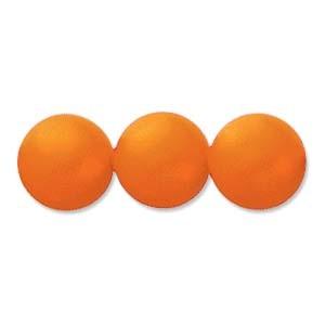 Swarovski Elements Perlen Crystal Pearls 4mm Neon Orange Pearls 100 Stück