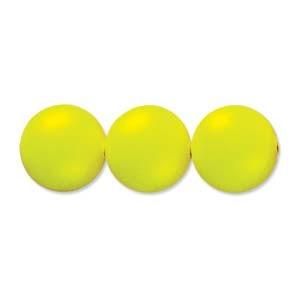 Swarovski Elements Perlen Crystal Pearls 4mm Neon Yellow Pearls 100 Stück