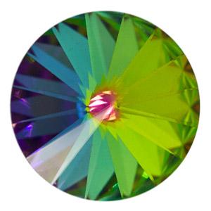 Swarovski Elements Rivolis 14mm Crystal Vitrail Medium foiled 6 Stück