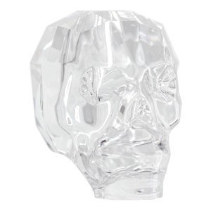 Swarovski Elements Scull Bead 19mm Crystal  1 Stück