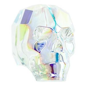 Swarovski Elements Scull Bead 19mm Crystal AB beschichtet 1 Stück