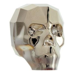 Swarovski Elements Scull Bead 19mm Crystal Metallic Light Gold 2X beschichtet 1 Stück