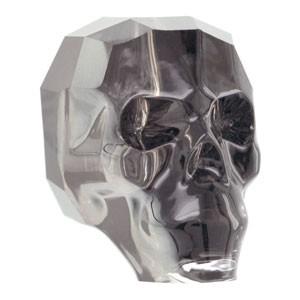 Swarovski Elements Scull Bead 13mm Crystal Silver Night beschichtet 1 Stück