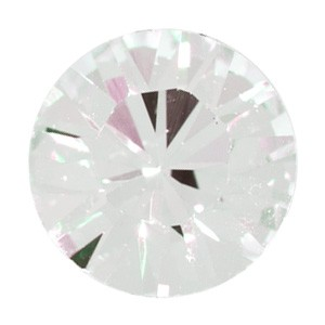 Swarovski Elements Chaton Steine SS19 Crystal Moonlight foiled