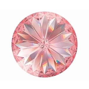 Swarovski Elements Rivolis 14mm Rose Peach foiled 6 Stück