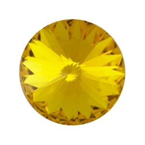 Swarovski Elements Rivolis 14mm Sunflower foiled 1 Stück