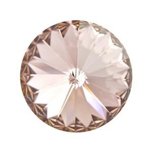 Swarovski Elements Rivolis 14mm Vintage Rose foiled 1 Stück