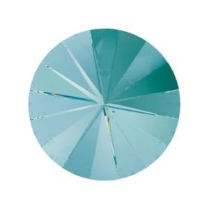 Swarovski Elements Rivolis 14mm Light Turquoise foiled 1 Stück