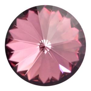 Swarovski Elements Rivolis 8mm Crystal Antique Pink F 6 Stück