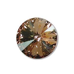 Swarovski Elements Rivolis 14mm Crystal Golden Shadow foiled 1 Stück