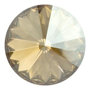 Swarovski Elements Rivolis 18mm Crystal Golden Shadow F 1 Stück