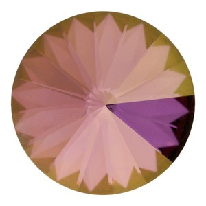 Swarovski Elements Rivolis 14mm Crystal Lilac Shadow foiled 6 Stück