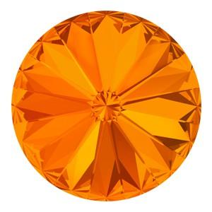 Swarovski Elements Rivolis 12mm Tangerine F 1 Stück