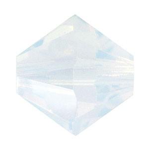 Swarovski Elements Perlen Bicones 3mm White Opal 100 Stück
