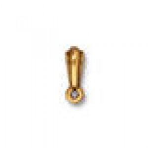 Tierracast Perle Aufhänger 8x5mm nouveau bail vergoldet