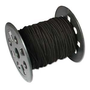Micro-Wildlederband 3mm schwarz