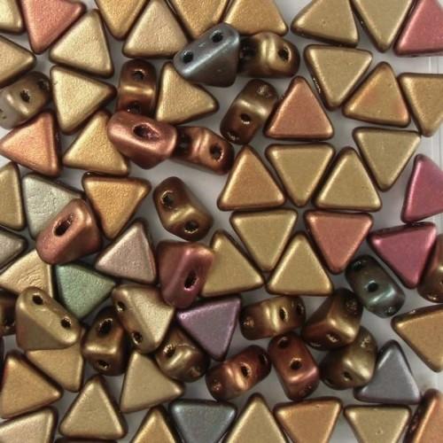 Kheops Pearls 6x6mm 00030-01620 Rainbow Metallic Yellow Gold ca 9 gr