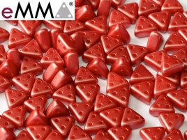EMMA Beads 3x6mm Pastel Dark Coral 10 Gramm