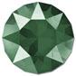 Swarovski Elements Rivolis 14mm Crystal Royal Green unfoiled 1 Stück